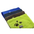 Absorbent microfiber pet dog dry bath towel