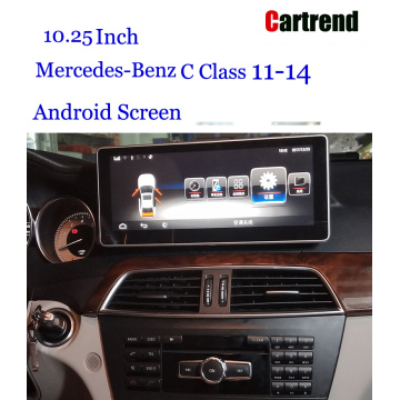 w205 screen for Benz C Class 11-14