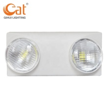 Rotatable dual head emergency light