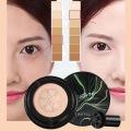 Mushroom Head Air Cushion Moisturizing Foundation Air-permeable White/Natural Color Brightening BB Cream Makeup TSLM1