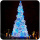 20ft 30ft 40ft 50ft giant outdoor artificial led motif lighting