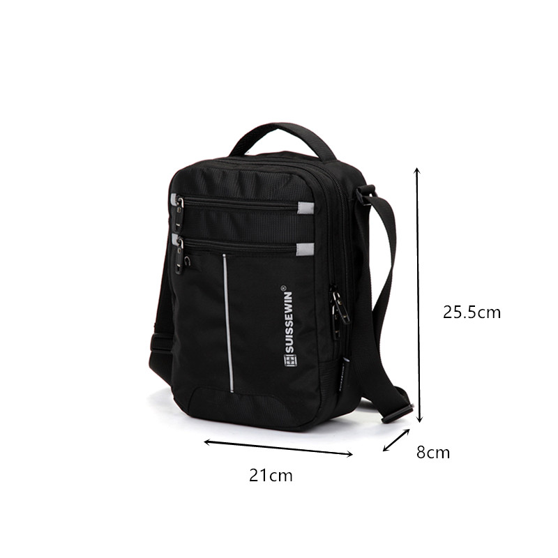 Nylon waterproof business casual backpack