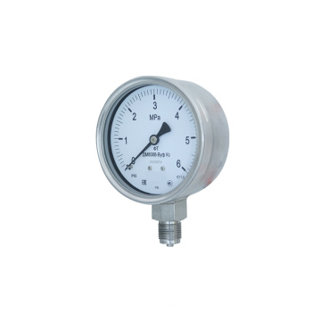 Liquid Filled Bourdon Tube Pressure Gauge