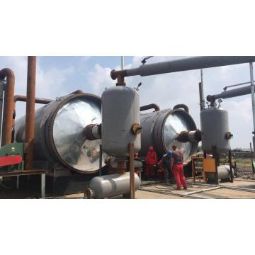 1 Year Warranty Pyrolysis Plant with Plastic