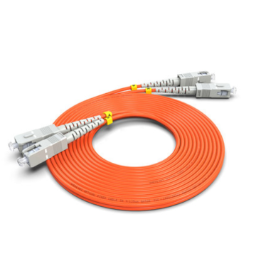 SC to SC UPC OM2 Duplex Patch Cord