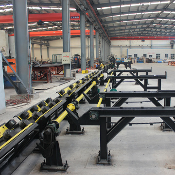 Cnc Punchin Marking & Shearing Line for Angles