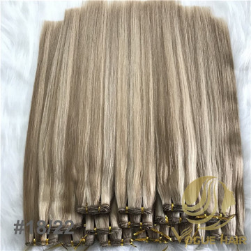 Customized cool tone piano 18/22 hand tied hair