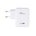 15.5W 4-Port Multi USB Wall Phone Charger White