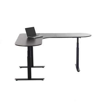 Degree L-Shaped Sit Stand Desk