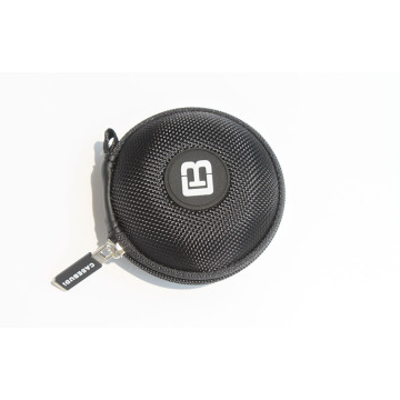 Small custom color logo earbud case