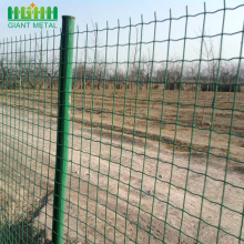 PVC Coated Euro Style Fence Panel
