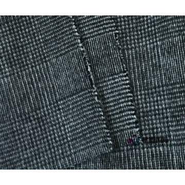 New Houndstooth Lattice Wool Blended Fabric