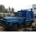 Dongfeng 6 cubic swing arm roll garbage truck