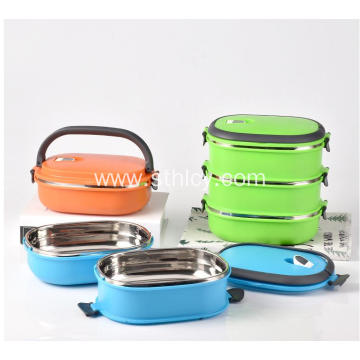 Stainless Steel Insulated Lunch Box Double Layer