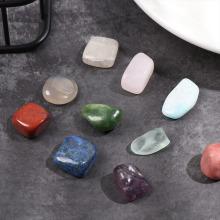20Pcs/Box Natural Polished Ore Quartz Minerals Specimen Chakra Healing Stone Collectible Crystal Raw Gemstone Home Decor Gifts