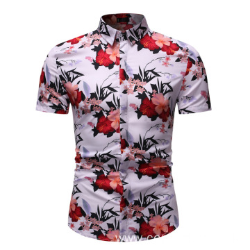 branded  summer printed shirts for men