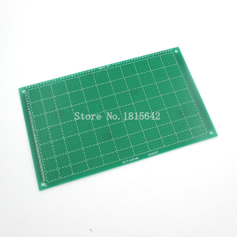 9*15cm Single Side PCB Board Glass Fiber Green Oil PCB Circuit Board 9x15cm Universal Plate