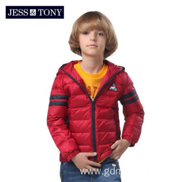 Children'S Clothing Baby Trend Hooded Down Jacket