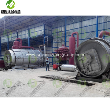 Oil from Tires Pyrolysis Plant USA Canada