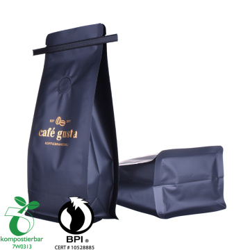 biodegradable plastic coffee bags one way valve wholesale