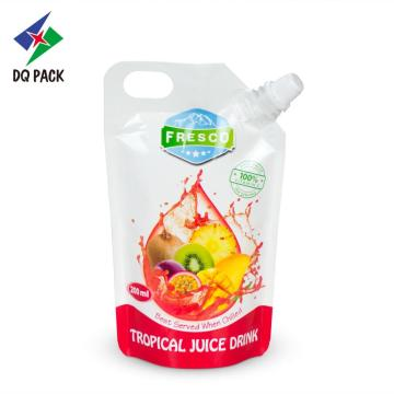 Flexible packaging Juice sachet spout pouch