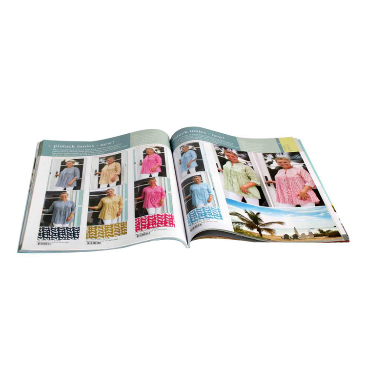 Custom Cheap Catalogue And Brochure Booklet Printing Service