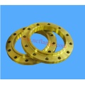Yellow Painting A105 Flanges