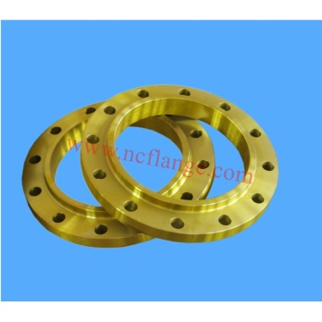 Yellow coating slip on flange