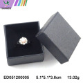 Classic Wedding Ring Boxes Black Gold