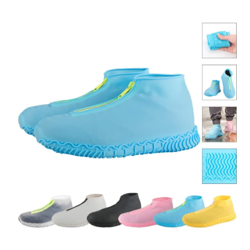 Reusable Silicone Waterproof Zipper Shoe Covers