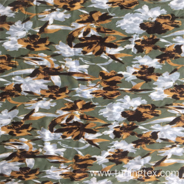 Rayon Big Floral Print Fabric