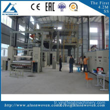 Low price AL-3200 S 3200mm nonwoven machine made in China