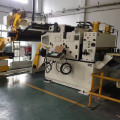 NC servo feeder decoiler straightener with power press