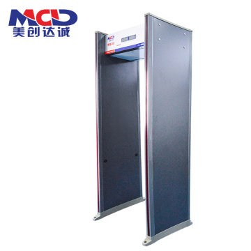 High-Tech Sensitive Full Body Security Scanner with Muti-Zone Alarm