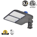 Photocell led street shoebox light 240W slip fitter