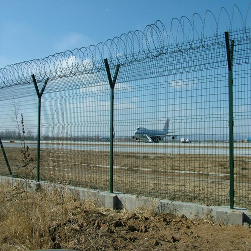 Discount High Security Powder Coated Airport Fence