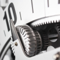 Hollowed-out Moving Gear Wall Clock
