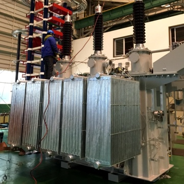 10MVA 132/2*1.22KV traction rectifier transformer