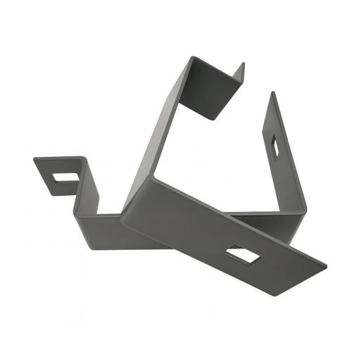 Precision CRS Grey U Brackets Engineering & Fabrication