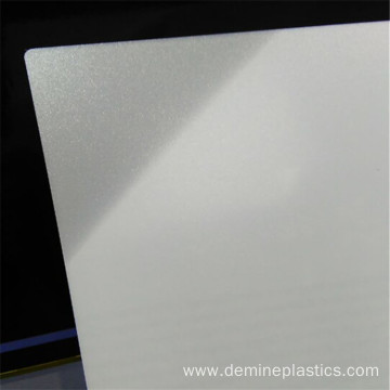 Polycarbonate sheet clear frosted translucent sheet 2mm