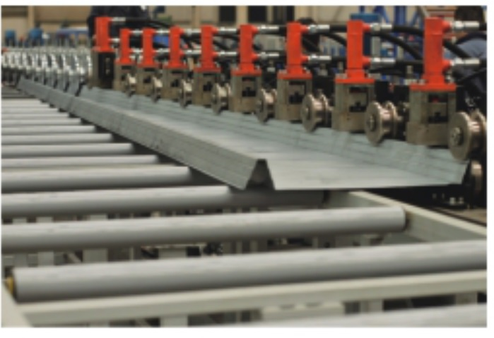 Silo Roof Roll Forming Machinery