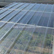 Anti Corrosion FRP UV Resistant Roof Sheet