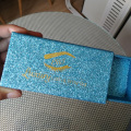 Customized eyelash packaging box glitter