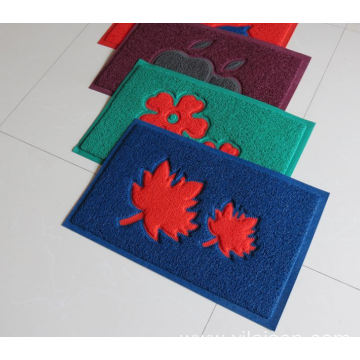 Factory  customized pvc coil door mat