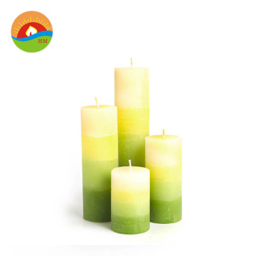 Paraffin wax customized eco friendly scented cube candles
