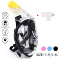 Diving equipment full face easy breathing