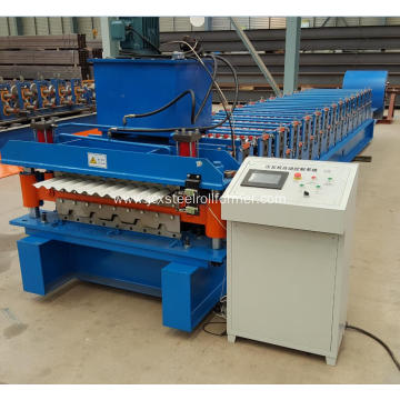 South Africa Low Price Double Roofing Sheet Machine
