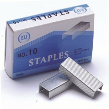 Metal Silver No.10 Galvanized Office Staples