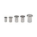 150 Pcs Mulit Size Aluminum Alloy Rivnut Flat Head Rivet Insert Nutsert Cap Rivet Nut