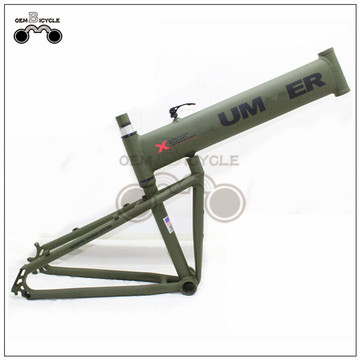 "26"" HUMMER Style Alloy Folding Bicycle Frame"